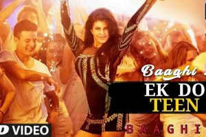 Ek Do Teen Video Song | Baaghi 2 |Jacqueline Fernandez | Tiger Shroff