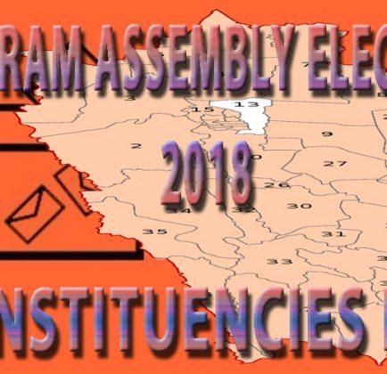 Mizoram Election 2018 – Constituencies List