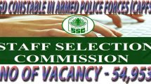 SSC GD Recruitment 2018 – Constable in Armed Police Forces (CAPFs) Apply Online