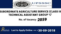 UPSSSC Recruitment 2018 – Apply Online, Eligibility Criteria, Application Fees and How to Apply